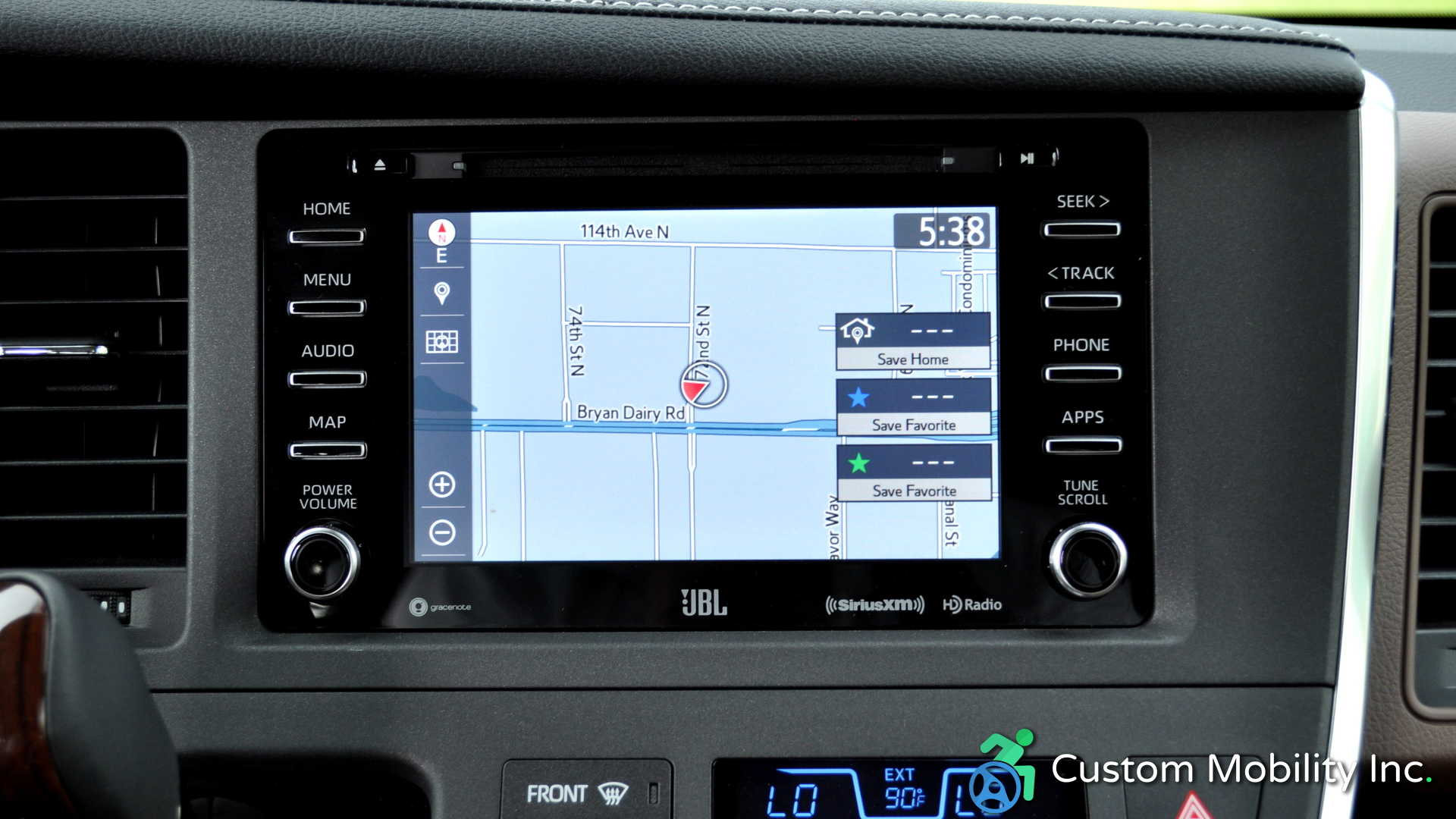 Toyota Sienna Service Manual: Audio and visual system