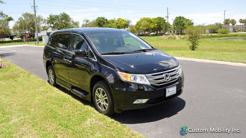 2013 Honda Odyssey | Stock: DB049327 | Wheelchair Van For Sale| Custom  Mobility Of Florida