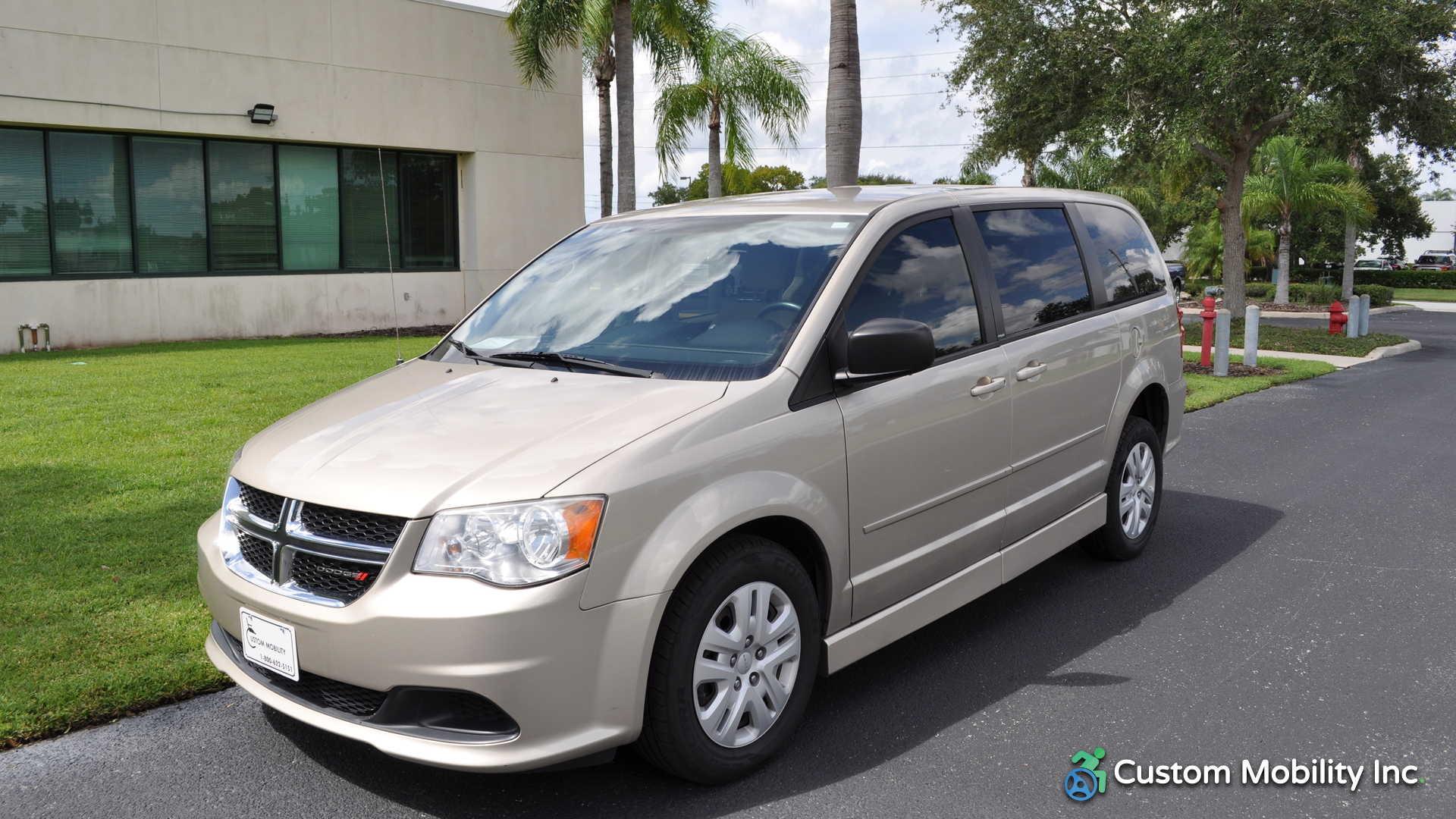 2014 Dodge Grand Caravan Stock Er146928 Wheelchair Van For Sale