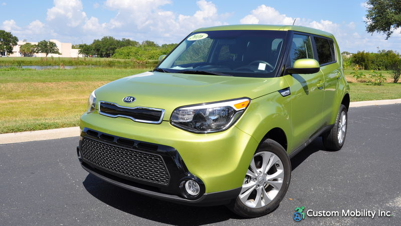 Used 2016 Kia Soul.  ConversionFreedom Motors Kia Soul Wheelchair Accessible