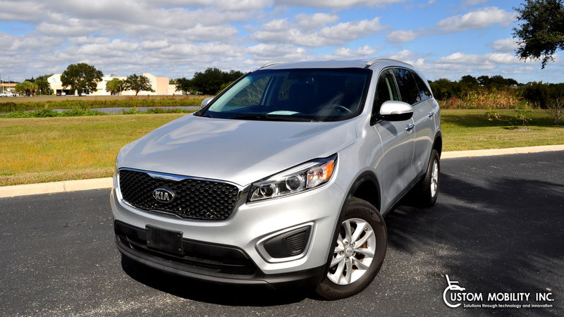 Used 2017 Kia Sorento.  ConversionFreedom Motors Kia Soul Wheelchair Accessible
