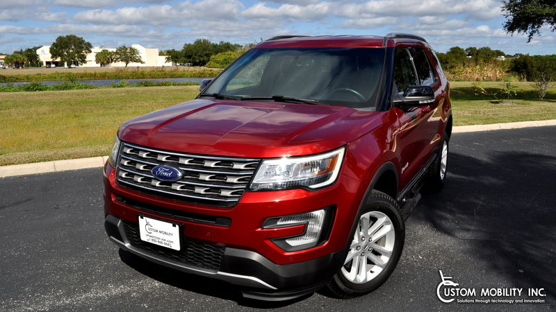 New 2016 Ford Explorer.  ConversionBraunAbility MXV Wheelchair SUV