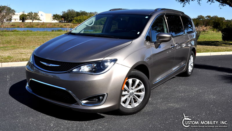Used 2018 Chrysler Pacifica.  Conversion