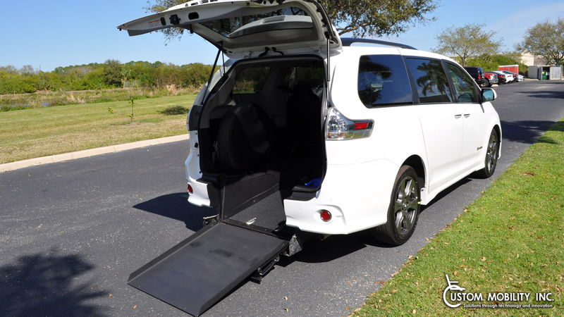 New 2019 Toyota Sienna.  ConversionBraunAbility Toyota Power Rear Entry