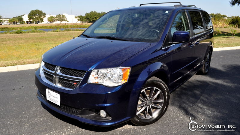 Used 2017 Dodge Grand Caravan.  ConversionRyno Mobility Ryno Mobility Rear Entry