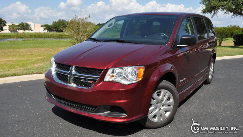 New 2018 Dodge Grand Caravan.  ConversionBraunAbility Dodge CompanionVan Plus
