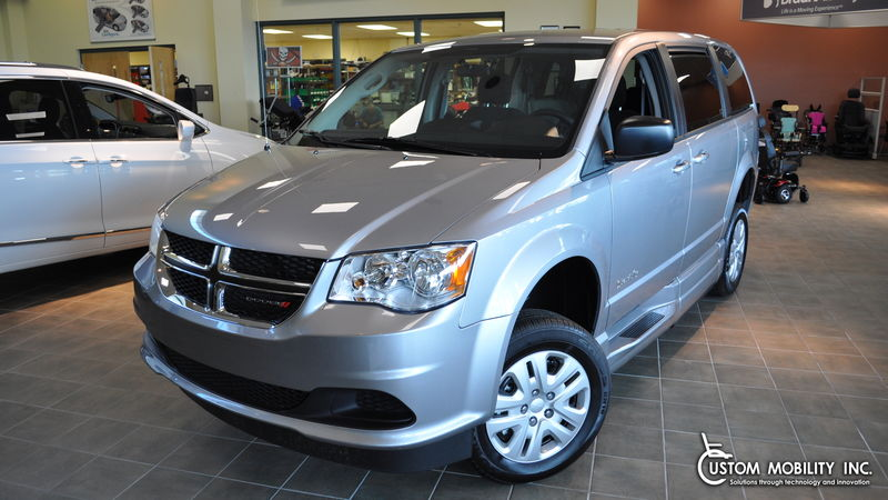 New 2018 Dodge Grand Caravan.  ConversionBraunAbility Dodge CompanionVan Plus XT