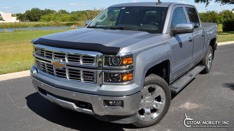 Used 2015 Chevrolet Silverado 1500.  ConversionATC Wheelchair Truck Conversions 1500 Chevy & GMC Trucks
