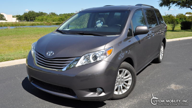 Used 2015 Toyota Sienna.  ConversionBraunAbility Toyota Power Rear Entry