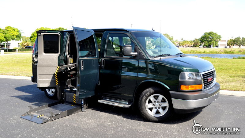 Used 2012 GMC Savana.  Conversion