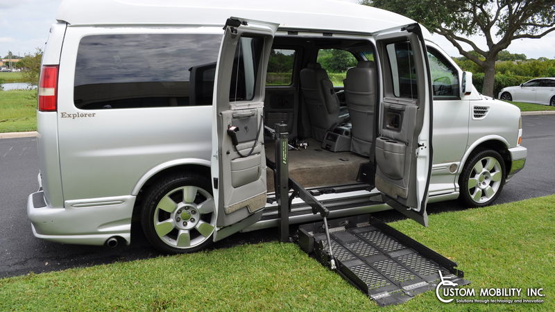 Used 2008 GMC Savana.  Conversion