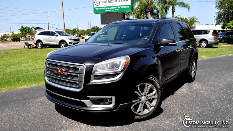 Used 2013 GMC Acadia.  Conversion