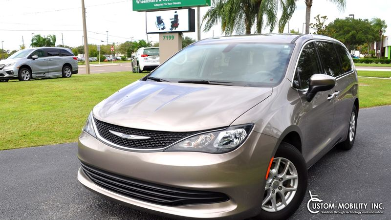 Used 2017 Chrysler Pacifica.  Conversion