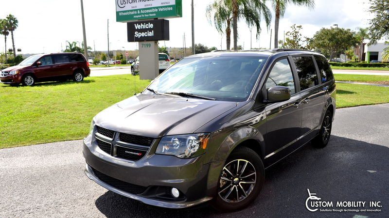 Used 2018 Dodge Grand Caravan.  Conversion