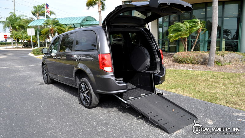 Used 2018 Dodge Grand Caravan.  ConversionRyno Mobility Ryno Mobility Rear Entry