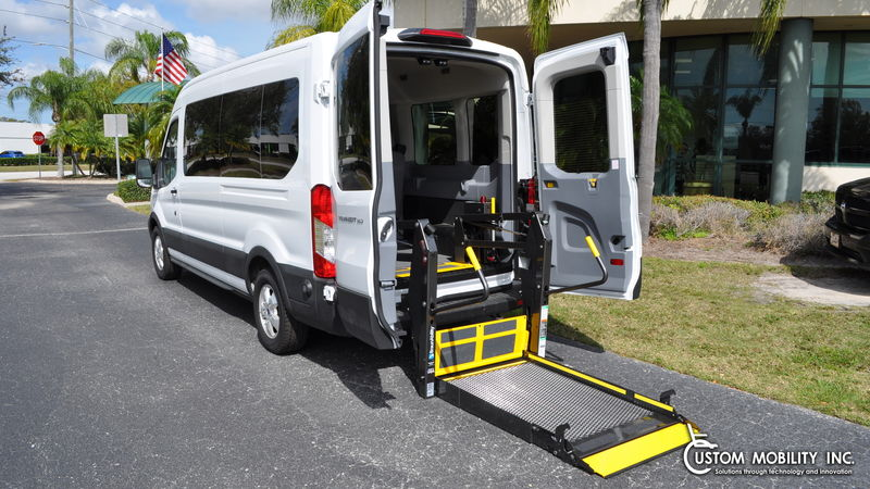 Used 2019 Ford Transit Wagon.  Conversion