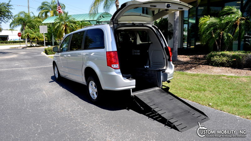 Used 2012 Dodge Grand Caravan.  ConversionTriple S Mobility Manual Rear Entry Dodge