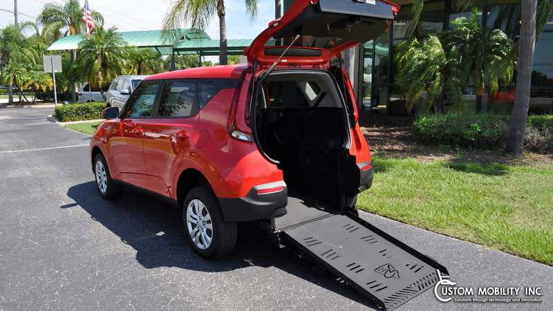 Used 2020 Kia Soul.  ConversionFreedom Motors Kia Soul Wheelchair Accessible