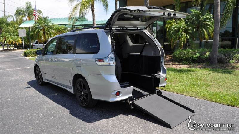 Used 2020 Toyota Sienna.  Conversion