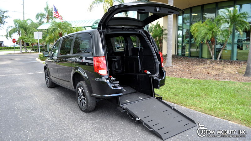 Used 2019 Dodge Grand Caravan.  ConversionRyno Mobility Ryno Mobility Rear Entry