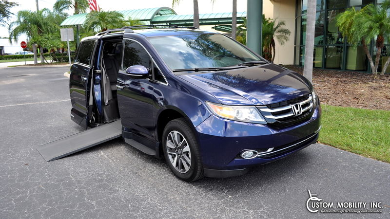 2016 Honda Odyssey VMI Honda Northstar wheelchair van for sale