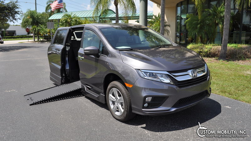 Used 2019 Honda Odyssey.  Conversion
