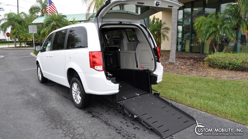 2019 Dodge Grand Caravan Ryno Mobility Ryno Mobility Rear Entry wheelchair van for sale