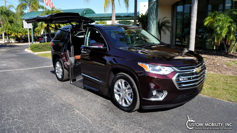 2020 Chevrolet Traverse ATC Wheelchair Truck Conversions Chevy, GMC & Cadalliac Suv's wheelchair van for sale