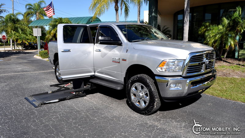 2015 Ram 2500 Ryno Mobility Wheelchair Accessible Trucks wheelchair van for sale