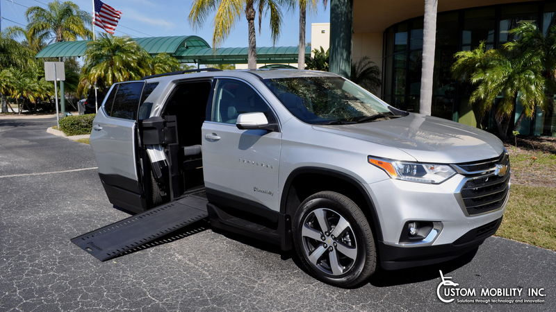 Used 2021 Chevrolet Traverse.  Conversion
