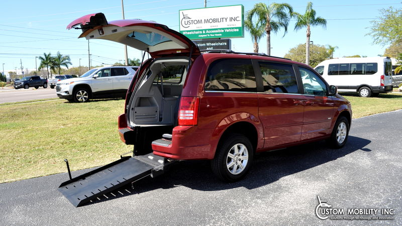 Used 2008 Chrysler Town and Country.  ConversionRyno Mobility Ryno Mobility Rear Entry