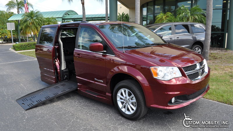 2020 Dodge Grand Caravan BraunAbility Dodge Entervan XT wheelchair van for sale