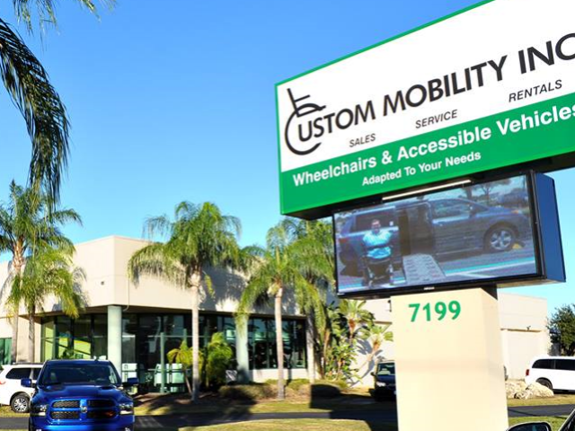 Custom Mobility's Facility in Largo, FL