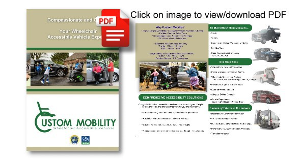 Wheelchair Accessible Vehicle Brochure