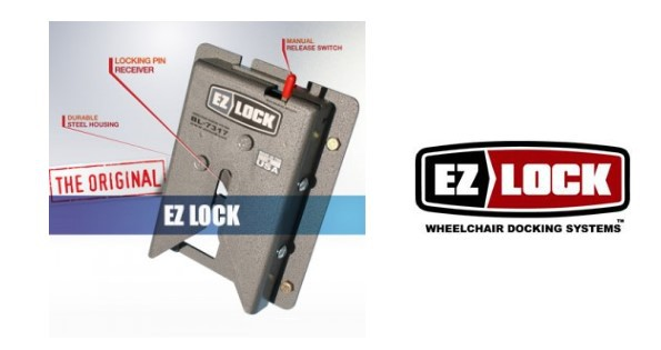 EZ-Lock Wheelchair Docking Station