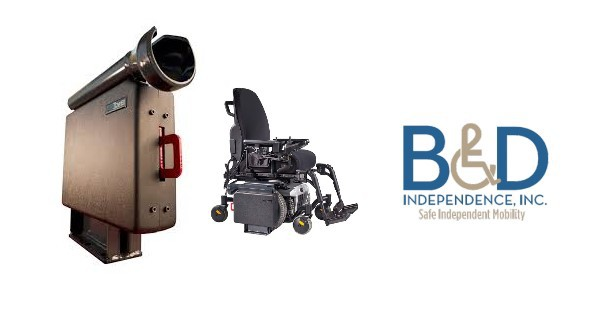 B&D Hightower Wheelchair Docking Station