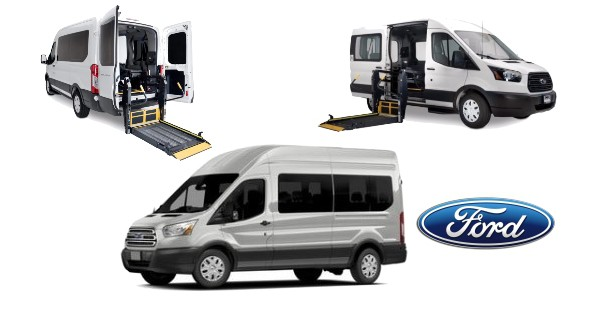 Ford Transit Commercial Wheelchair Transport Van