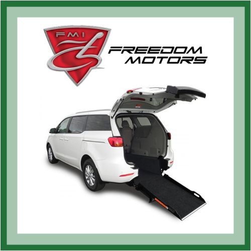 Freedom Motors Rear Entry Ramp