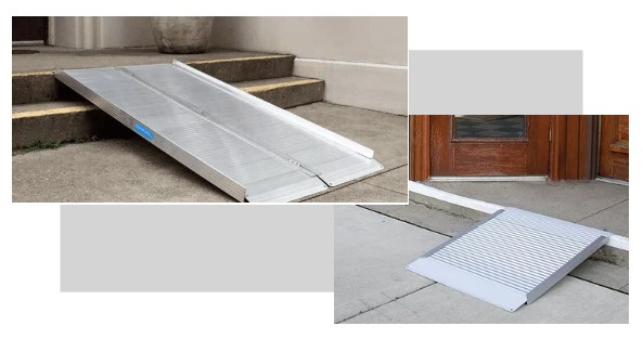 Ramps for wheelchair accessibility