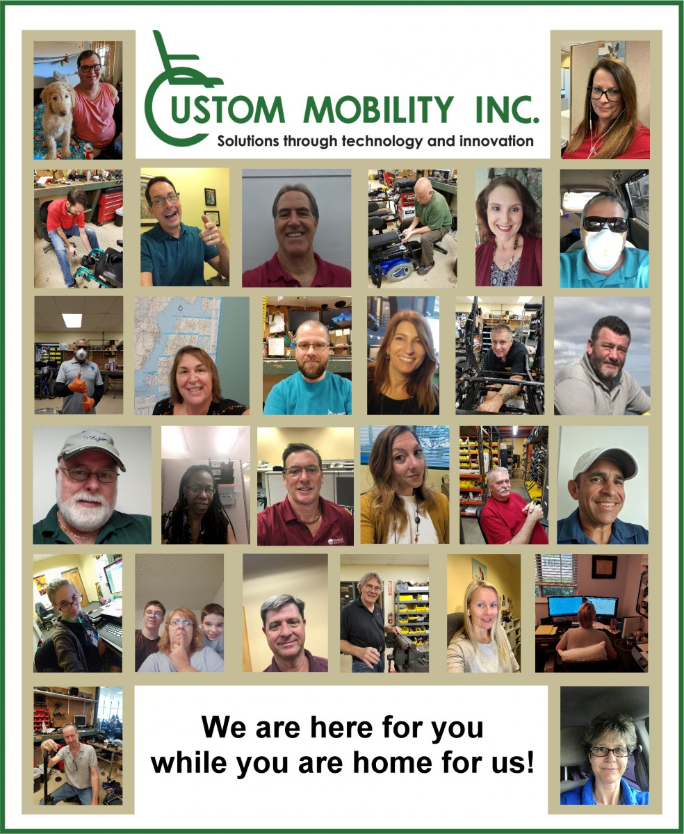 Custom Mobility Employee Collage